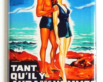 From Here to Eternity (France) Movie Poster Fridge Magnet
