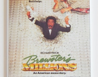 Brewster's Millions Movie Poster Fridge Magnet