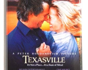 Texasville Movie Poster Fridge Magnet