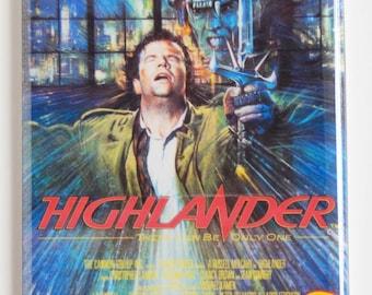 Highlander Movie Poster Fridge Magnet
