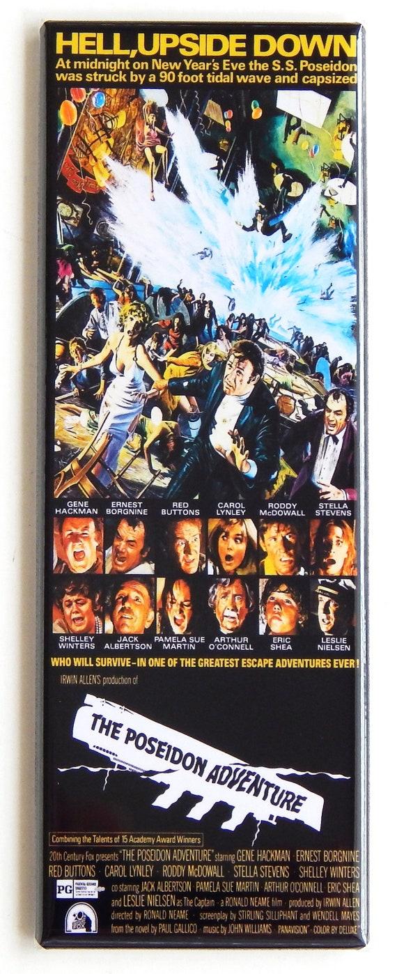 The Poseidon Adventure Movie Poster Fridge Magnet 1 5 X 4 5 Inches