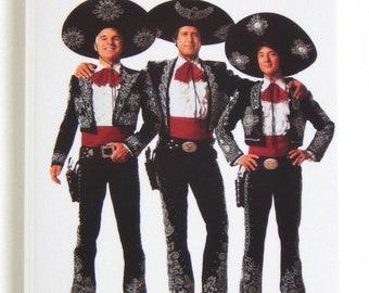 Three Amigos Movie Poster Fridge Magnet
