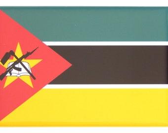 Flag of Mozambique Fridge Magnet