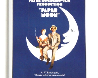 Paper Moon Movie Poster Fridge Magnet