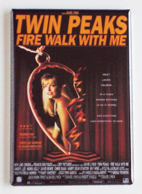 Twin Peaks Fire Walk With Me aimant de réfrigérateur affiche du film