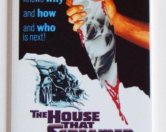 The House That Screamed Movie Poster Fridge Magnet