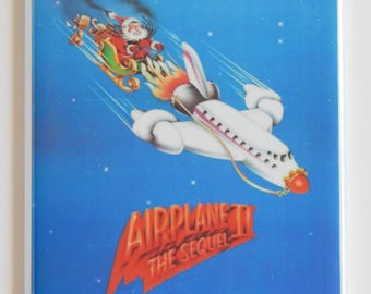 Airplane 2 Movie Poster Fridge Magnet