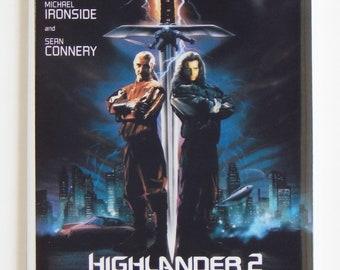 Highlander 2 Movie Poster Fridge Magnet