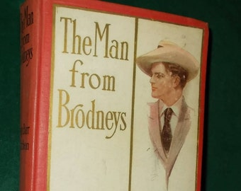 Man From Brodneys By George Barr McCutcheon Antique Book Early American Novel Romance Novel South Sea Island