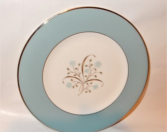 Set of 4 VINTAGE MEADOW BREEZE BREAD PLATES USA - SYRACUSE CHINA
