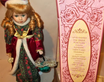 Soft Expressions Collectors Choice Genuine Fine Bisque Porcelain Doll Various Styles Dolls Other Dolls