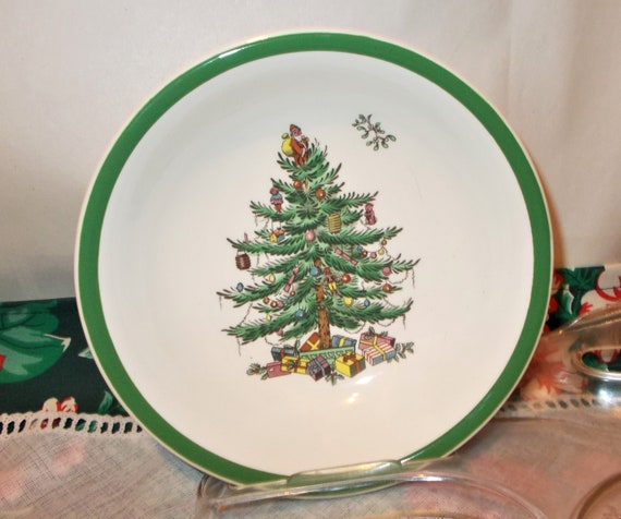 image 0 - Four Spode Christmas Tree Cereal Bowl Are Vintage Dishes With Etsy