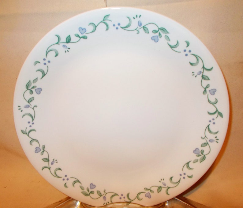 Corelle Dish Set is Country Cottage in a Service for Six of Vintage Dinnerware plus Serving Bowl 25 Dishes