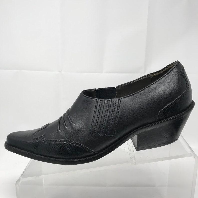 adbfdc0585 Women's Matisse Cowboy Booties Sz 8 M Black Leather | Etsy