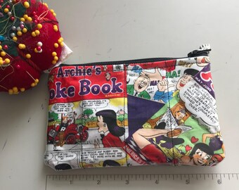 Zippered Pouch - Archie Andrews vinyl coin purse/change purse