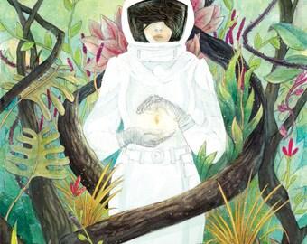 Terra Illustration Print