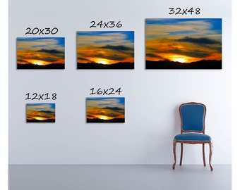 Colorado Sunset -- by James Ribniker -- Giclee on canvas