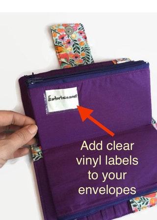 Add On Labels, Cash Envelopes, Vinyl Label, Money System, Dave Ramsey Money System, Labels, Money Envelope Labels