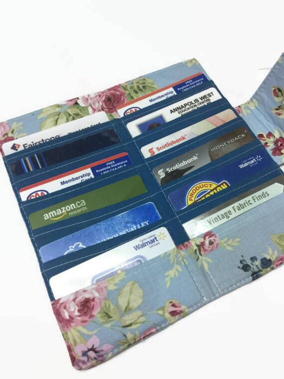 Credit Card Holder Credit Card Organizer Gift Card Etsy