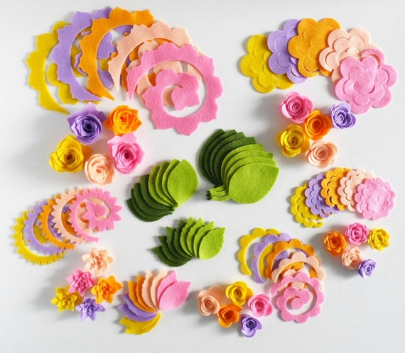 20 amarillo y naranja flores de ganchillo ~ Apliques de flores ~ 3.5cm ~ Otros Colores