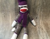 Embroider Buddy Sock Monkey with Personalized Scarf