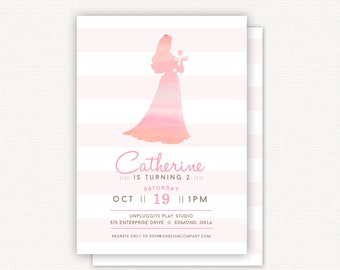 Invitation: Princess Sleeping Beauty