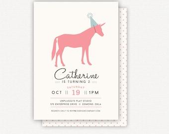 Invitation: Unicorn
