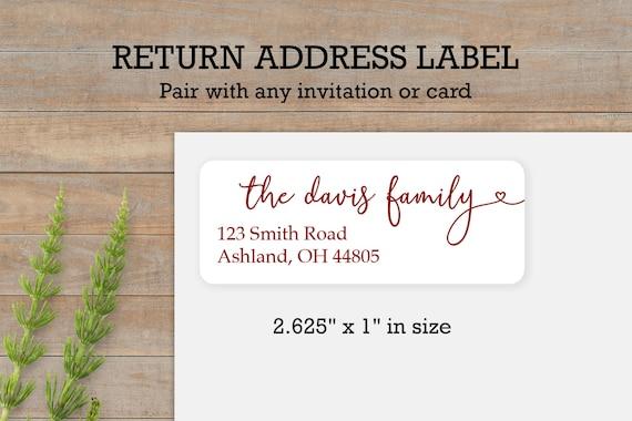 House Plant Envelope Seal Address Sticker Personalized Packaging Sticker Custom Address Label Return Address Labels