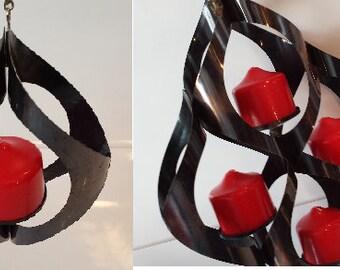 Vintage hanging candle holders