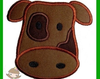 Cow Applique design