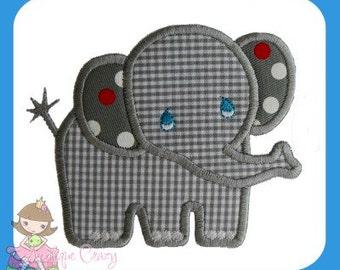 Baby Elephant Applique design