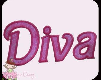 Diva Applique design