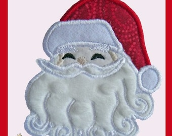 Santa applique design