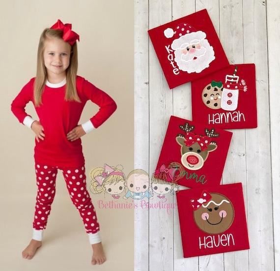 image 0 - Girl Christmas Pajamas