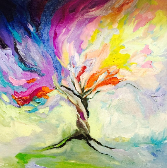 Tree Of Life Paintings On Canvas