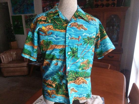 Vintage Kings Road Hawaiian Shirt,Sears Hawaiian S