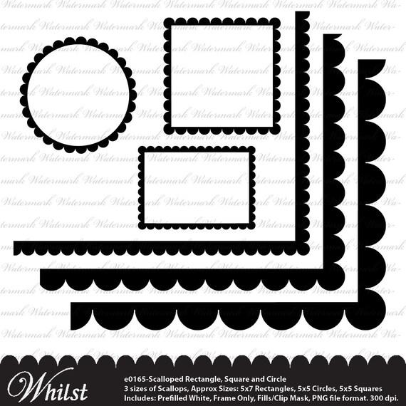 Marco clip arte círculo marco Vieira cuadrado adornado marco lindo ...