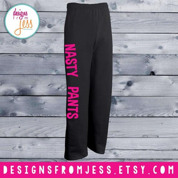 nasty pants sweats big and comfy style etsy