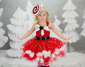 e41275aa79d Mrs. Claus Tutu Dress- Christmas tutu dress- Santa Claus costume- Santa  Claus dress