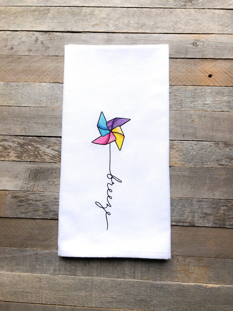 April: Breeze Sentiments of the Year Kitchen Towel image 0