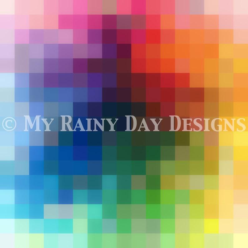 Color Burst Kona Color Card Quilt Pattern image 0