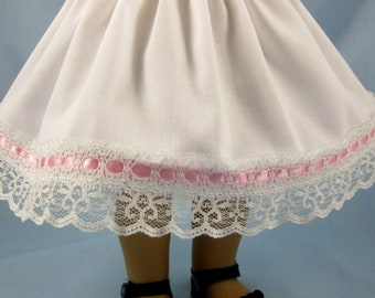 Petticoat fits American Girls - For 18 Inch Dolls - Doll Petticoat - Gift for Girl - Slip for 18 Inch Doll - Doll Clothes 18 Inch