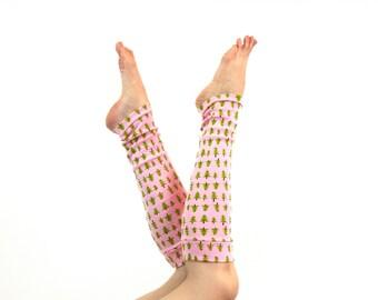 Christmas Leg Warmers, Womens Leg Warmers, Long Pink Leg Warmers, Friend Gift Ideas, Christmas Gift for Her Holiday Leg Warmers, Womens Gift
