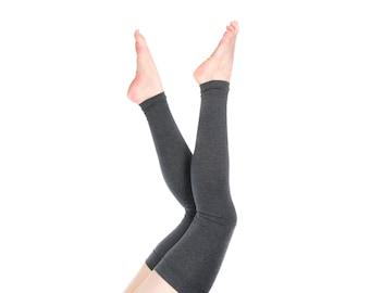 Extra Long Leg Warmers Women Thigh High Over the Knee Leg Warmers, Womens Grey Leg Warmers Yoga Leg Warmers Adult Leg Warmers Gift for Her