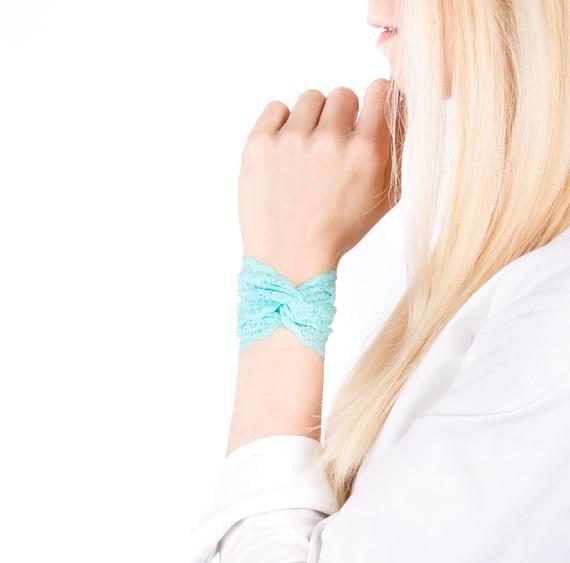 Bracelet Manchette En Dentelle Dentelle Manchette Bracelet Etsy