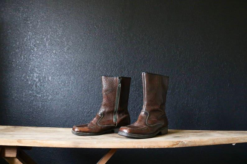 c1b778bd8937b Vintage 60's Chocolate Boots