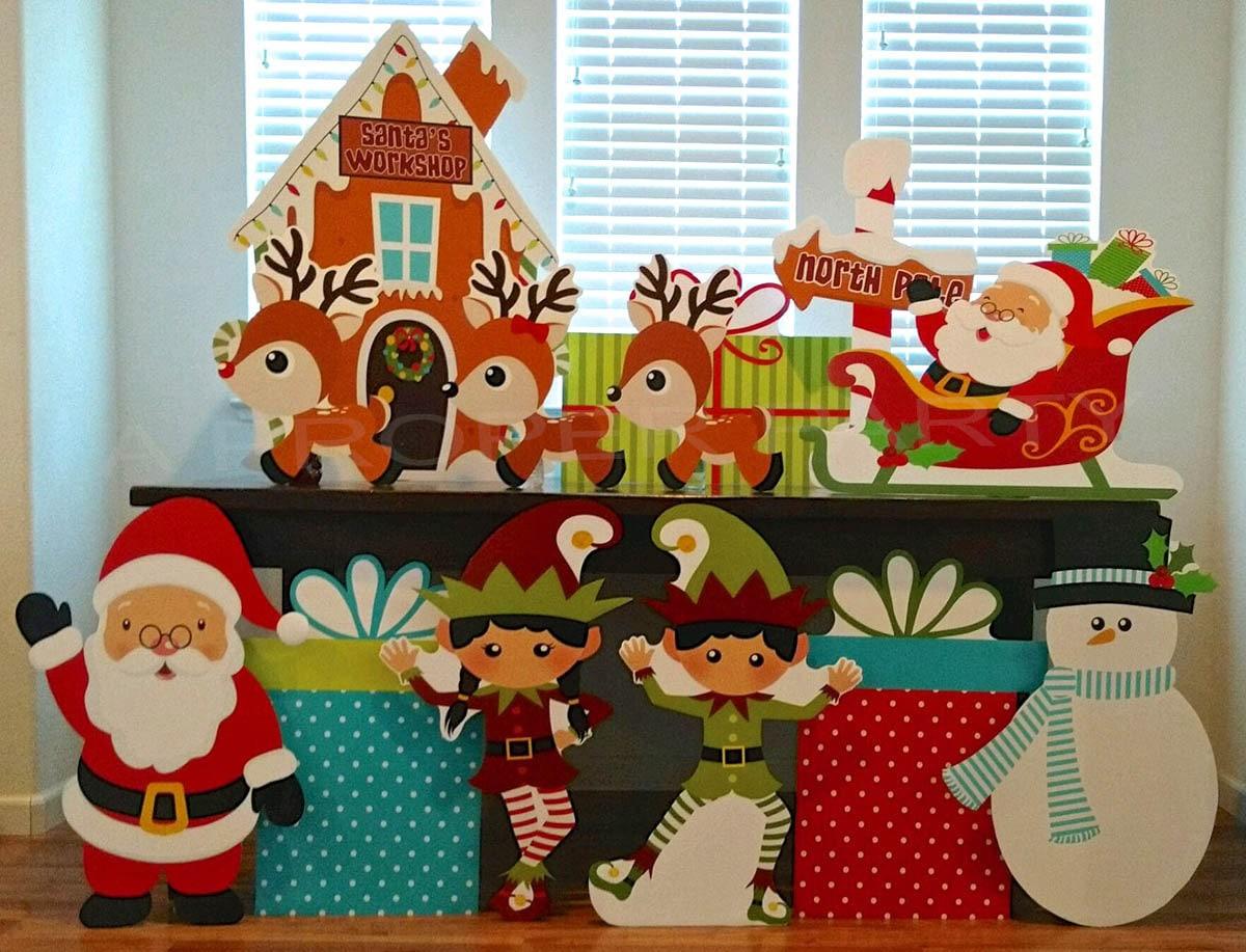 Christmas North Pole Christmas Party Christmas Decor | Etsy