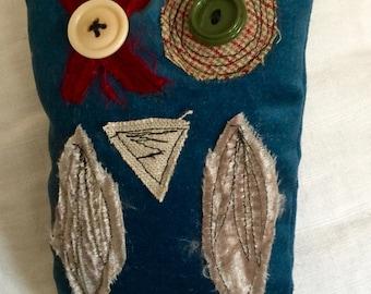 Hugs & Kisses Whimsical Owl