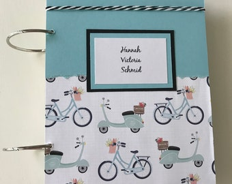 Card Organizer - Greeting Card Organization - Birthday Card Storage - Birthday Memory Book - Custom Card Organizer - Handmade Card Storage