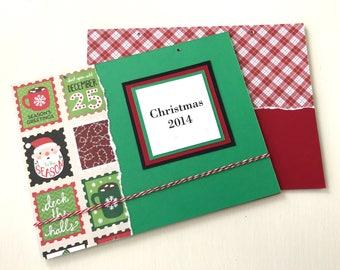Christmas Card Organizer - Greeting Card Organizer - Holiday Card Storage - Greeting Card Holder - Christmas Cards Storage - Card Organizer